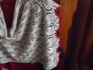 V shawl 009